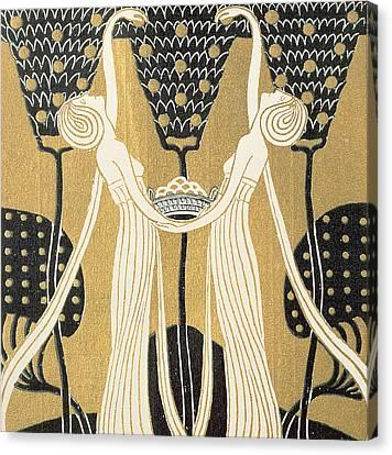 September Canvas Print by Wilhelm List