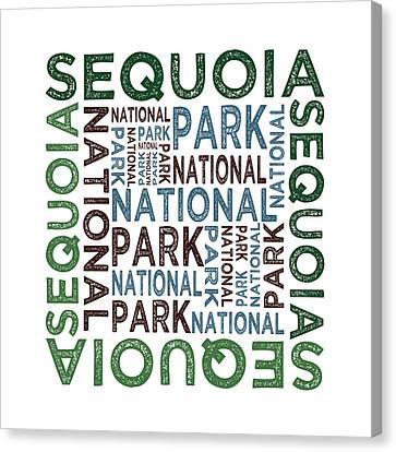 Sequoia National Park Canvas Print by Flo Karp