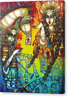 Serenade Canvas Print by Albena Vatcheva