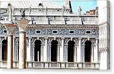 Serenade In Venice Canvas Print by Ira Shander
