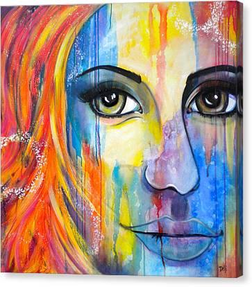 Serendipity Canvas Print by Debi Starr