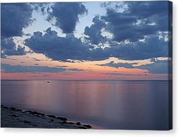 Serene Cape Cod Bay Canvas Print by Juergen Roth