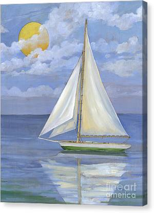 Serene Sailboat II Canvas Print by Paul Brent