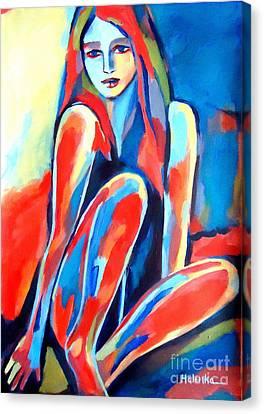 Serene Thoughts Canvas Print by Helena Wierzbicki