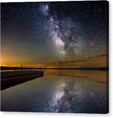 Serenity Canvas Print by Aaron J Groen