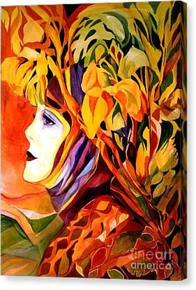 Serenity Canvas Print by Carolyn LeGrand