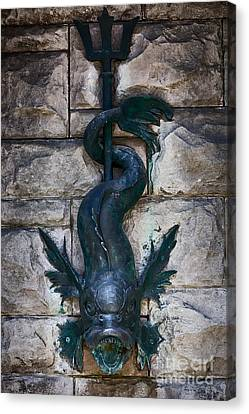 Serpent Fountain Canvas Print by Doug Sturgess