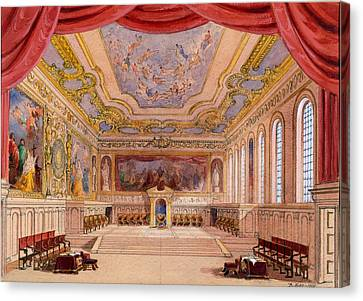 Set Design For The Merchant Of Venice Canvas Print by English School
