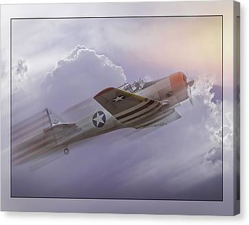 Seversky At-12 Guardsman Canvas Print by Steve Benefiel