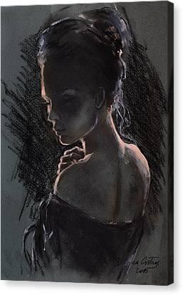 Shades Of Light Canvas Print by Dorina  Costras