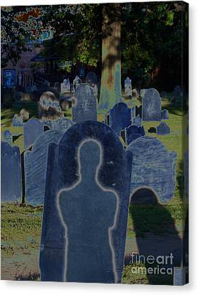 Shadow Grave  Canvas Print by First Star Art