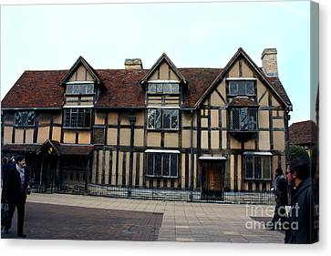 Shakespeare's Birthplace Canvas Print by Terri Waters