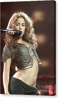 Shakira Canvas Print by Concert Photos