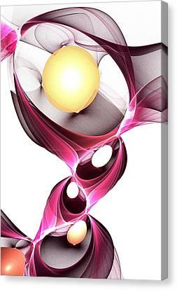 Shape-shifter Canvas Print by Anastasiya Malakhova