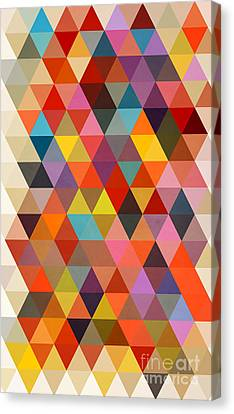 Shapes Canvas Print by Mark Ashkenazi