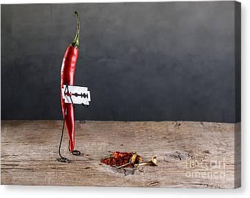 Sharp Chili Canvas Print by Nailia Schwarz