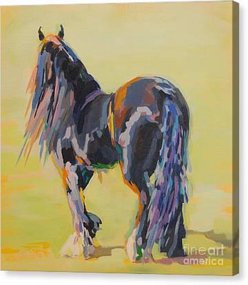 Shasta Solomon Canvas Print by Kimberly Santini