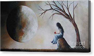 She Misses You By Shawna Erback Canvas Print by Shawna Erback
