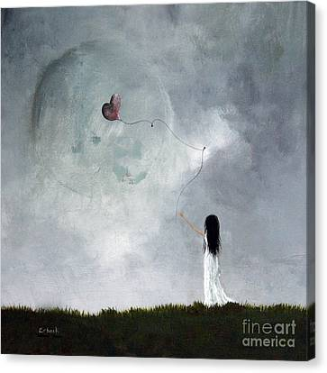 Surreal Art Print By Shawna Erback Canvas Print by Shawna Erback