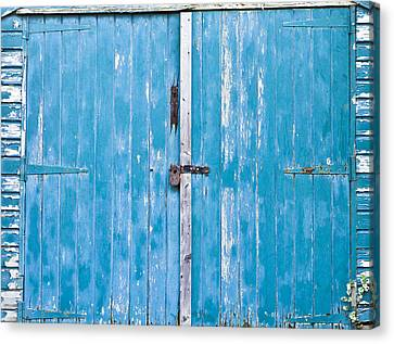 Shed Door Canvas Print by Tom Gowanlock