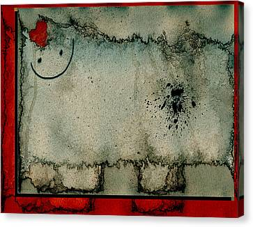Sheep Or Not So - Bb06 Canvas Print by Variance Collections