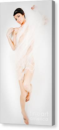 Sheer Nude Canvas Print by Jt PhotoDesign