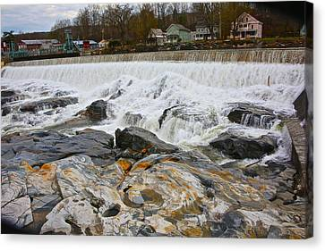 Shelburne's Falls Canvas Print by Randi Shenkman