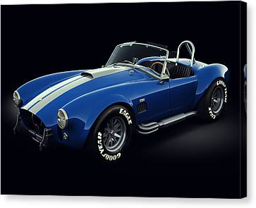 Shelby Cobra 427 - Bolt Canvas Print by Marc Orphanos