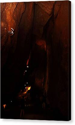 Shenandoah Caverns - 121223 Canvas Print by DC Photographer