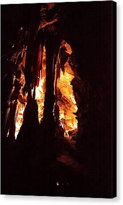 Shenandoah Caverns - 121247 Canvas Print by DC Photographer