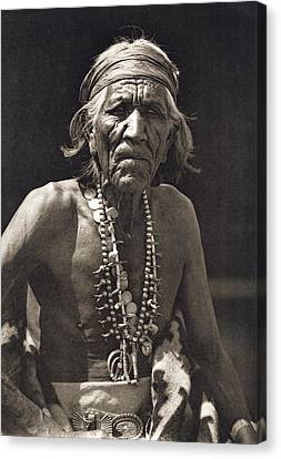 Shepherd Of The Hills, Navajo Canvas Print by Underwood Archives