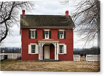 Sherfy House Canvas Print by John Rizzuto