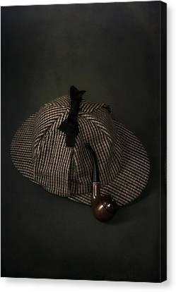Sherlock Holmes Canvas Print by Joana Kruse