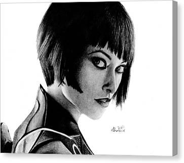 She's An Iso Canvas Print by Kayleigh Semeniuk