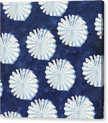 Shibori IIi Canvas Print by Elizabeth Medley