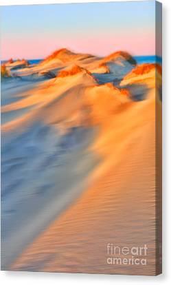 Shifting Sands - A Tranquil Moments Landscape Canvas Print by Dan Carmichael