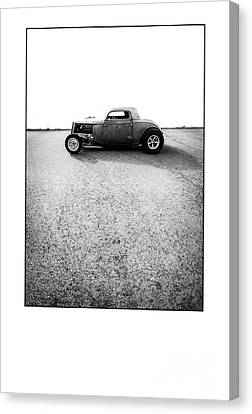 Shine - Metal And Speed Canvas Print by Holly Martin