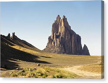 Shiprock 3 - North West New Mexico Canvas Print by Brian Harig