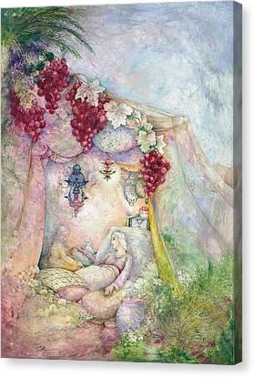 Shir Hamalot Canvas Print by Michoel Muchnik