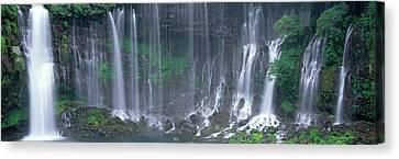 Shiraito Falls, Fujinomiya, Shizuoka Canvas Print by Panoramic Images