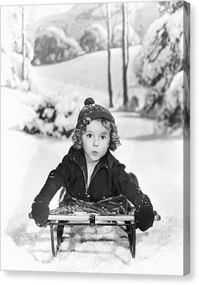 Shirley Temple Canvas Print by MMG Archives