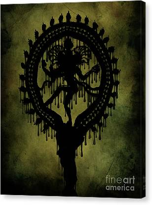 Shiva Canvas Print by Cinema Photography