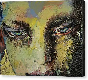 Shiva Canvas Print by Michael Creese