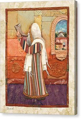 Shofar Canvas Print by Michoel Muchnik