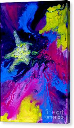 Shooting Star Canvas Print by Bozena Simeth
