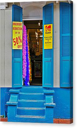 Shop New Orleans Canvas Print by Christine Till
