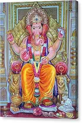 Shree Ganesh  Canvas Print by Mayur Sharma