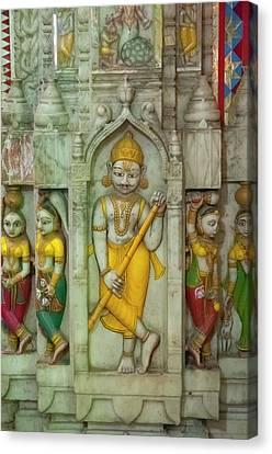 Shree Laxmi Narihan Ji Hindu Temple Canvas Print by Inger Hogstrom