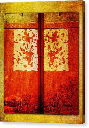 Shuttered Canvas Print by Carol Leigh