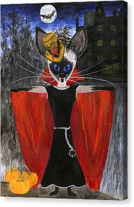 Siamese Queen Of Transylvania Canvas Print by Jamie Frier